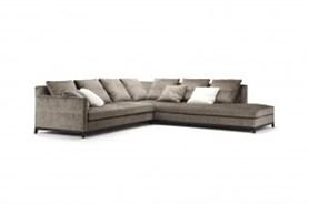 Convertible corner sofa with chaise longue - bim