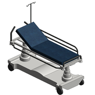 Stretcher Trolley - bim