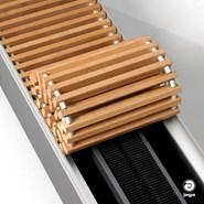 Mini Canal, radiador empotrado en suelo de baja temperatura - bim