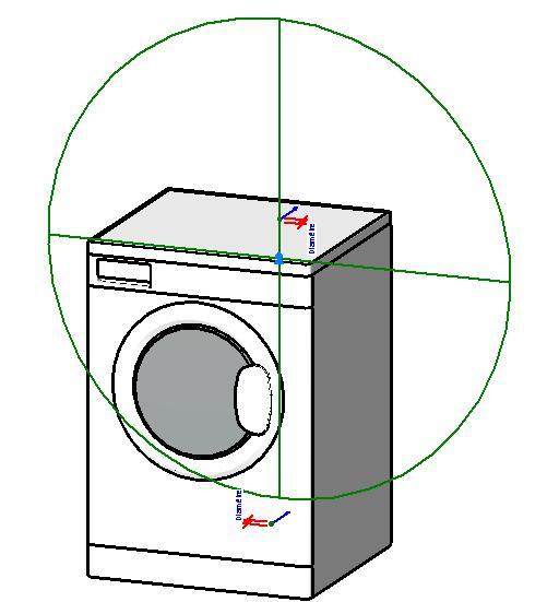 Washing machine BIM OBJECT: free BIM file downloads e g