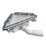 S-790 Linnum triangular floor gully - bim