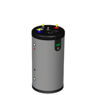 SmartLine SL Hot water tank  - bim