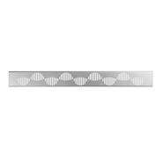 S-775 Rejilla WAVES para canaleta Linnum 70mm - bim
