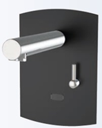 Electronic tap basin: PRESTO DOMO SENSIA - PM with battery CR-P2 Black - bim