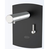 Electronic tap basin: PRESTO DOMO SENSIA - PM with battery CR-P2 Black - bim