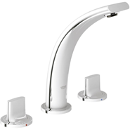 Allure Brilliant - Three-hole basin mixer S-Size - bim