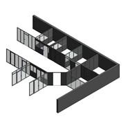 """Maquette cloison amovible générique """"Architecte"""" - bim"""