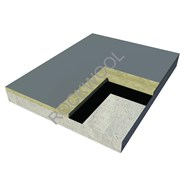 Roof - Concrete Deck Roof - Hardrock 80 - bim