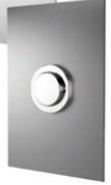 Built-in timed urinal tap: PRESTO XT 2000 - UE Stainless - bim