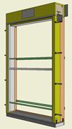 Monoblocco Termoisolante - RoverBlok Avvolgibile_RVRAFC-2 porta - bim
