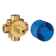 3-Way Diverter Rough-In Valve - bim