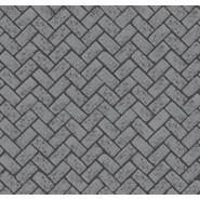printed series - Herringbone used brick - bim
