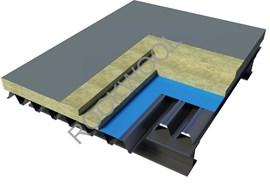 Roof - Metal Deck Roof - Hardrock 60 + Roofrock 30 - bim