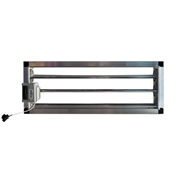 Compuerta motorizada rectangular de conducto - CPRC MTE - bim