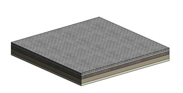 Adoquines de hormigón (sin dimensiones) - bim