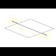 Foseado perimetral en techo con iluminación led - bim