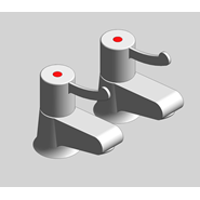 Hospita - Paire de robinets de lavabo - bim