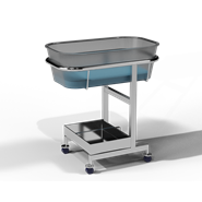 Medical Cradle on casters - bim