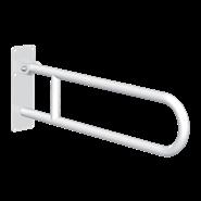 511516W Basic drop-down grab bar White stainless steel - bim