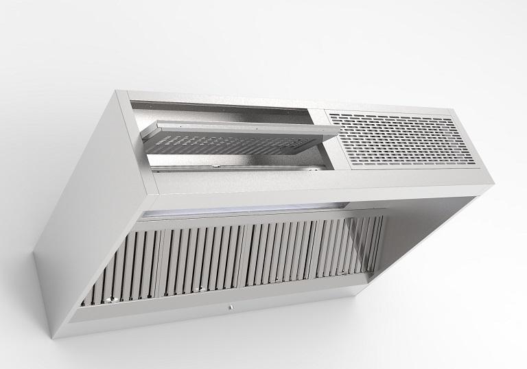 Saftair Ventilation Hotte De Cuisine Professionnelle A Induction