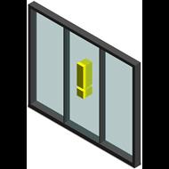 Window Infinium 3 Doors - bim
