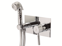THEO CITY - Wall mixer bidet faucet - bim