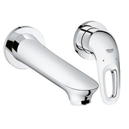 Eurostyle - Two-Hole Basin Mixer - Chrome - bim