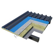 Pitched Metal Roof - Cool 'n' Comfort RL940 + Air gap - Cemboard under rafter - bim