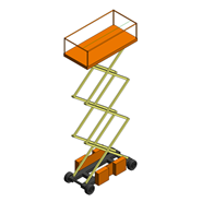 Electric Scissor Lift - bim