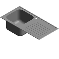Stainless steel sink unit - bim