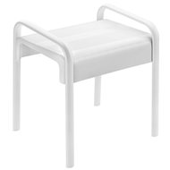 ARSIS shower stool, White - bim
