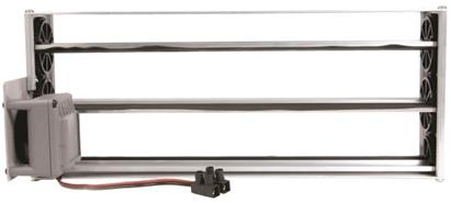 Compuerta motorizada rectangular de rejilla - CPRR MTE - bim