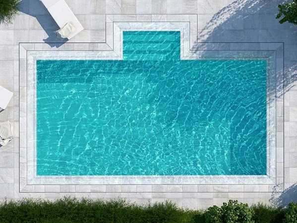 ROSA GRES Pool System S9 Prestige BIM OBJECT: free BIM file