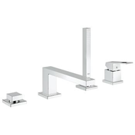 Eurocube 4-hole single-lever bath combination - bim