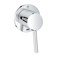 Concetto 2-way diverter trim (shower head/tub spout) - bim