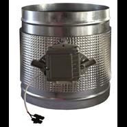 Motorized round duct damper-CPCC MTE - bim
