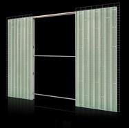 Eco Plus Brick wall double opening sp145 - bim