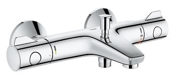 Thermostatic Bath Mixer - Grohtherm 800 - bim