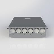 Heat recovery ventilation DX HUB 6 - bim